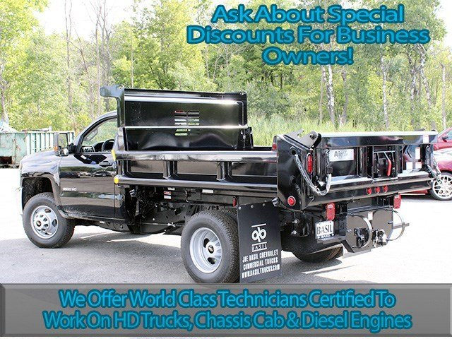 2016 Silverado 3500 Regular Cab 4x4, Air-Flo Dump Body #16C240T - photo 6