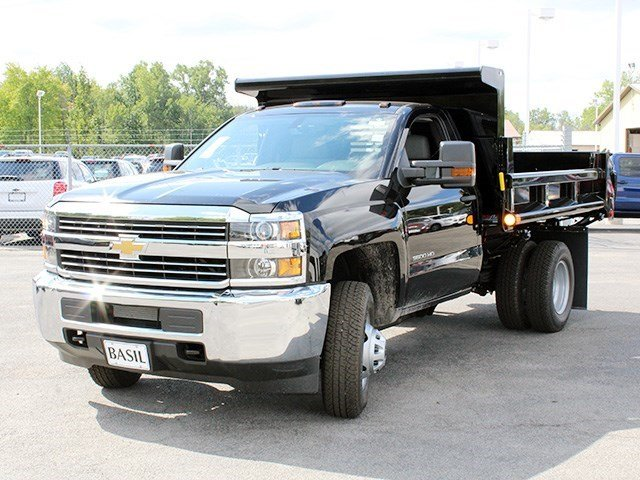 2016 Silverado 3500 Regular Cab 4x4, Air-Flo Dump Body #16C240T - photo 7
