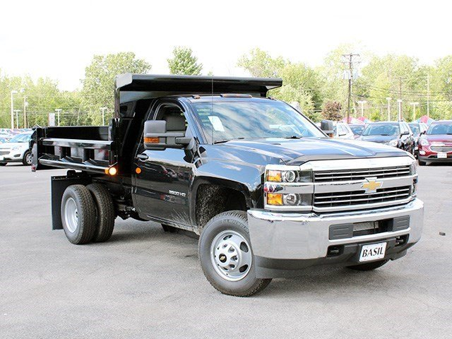 2016 Silverado 3500 Regular Cab 4x4, Air-Flo Dump Body #16C240T - photo 8