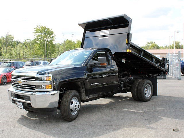 2016 Silverado 3500 Regular Cab 4x4, Air-Flo Dump Body #16C240T - photo 9