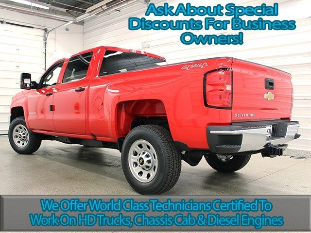 2016 Silverado 2500 Crew Cab 4x4, Pickup #16C253T - photo 6