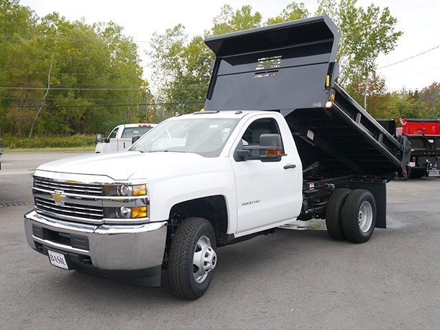 2016 Silverado 3500 Regular Cab 4x4, Air-Flo Dump Body #16C293TD - photo 10