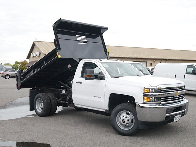 2016 Silverado 3500 Regular Cab 4x4, Air-Flo Dump Body #16C293TD - photo 11