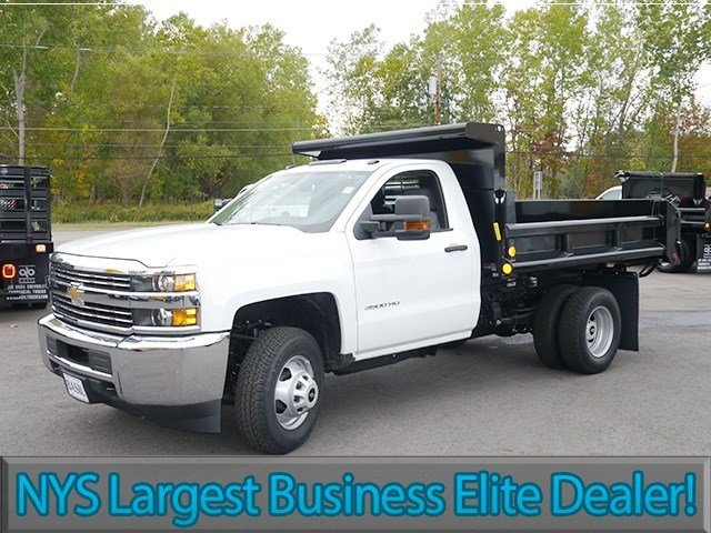 2016 Silverado 3500 Regular Cab 4x4, Air-Flo Dump Body #16C293TD - photo 3