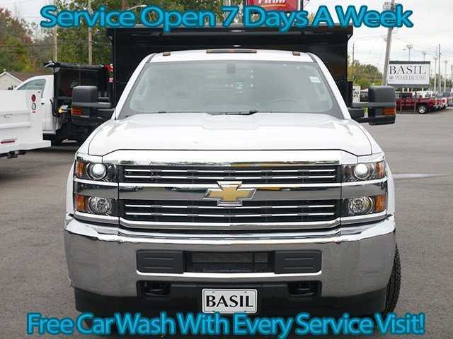 2016 Silverado 3500 Regular Cab 4x4, Air-Flo Dump Body #16C293TD - photo 4