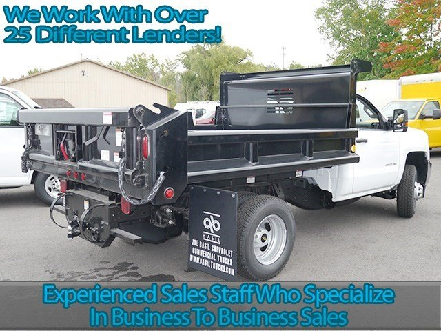 2016 Silverado 3500 Regular Cab 4x4, Air-Flo Dump Body #16C293TD - photo 2