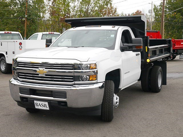 2016 Silverado 3500 Regular Cab 4x4, Air-Flo Dump Body #16C293TD - photo 7