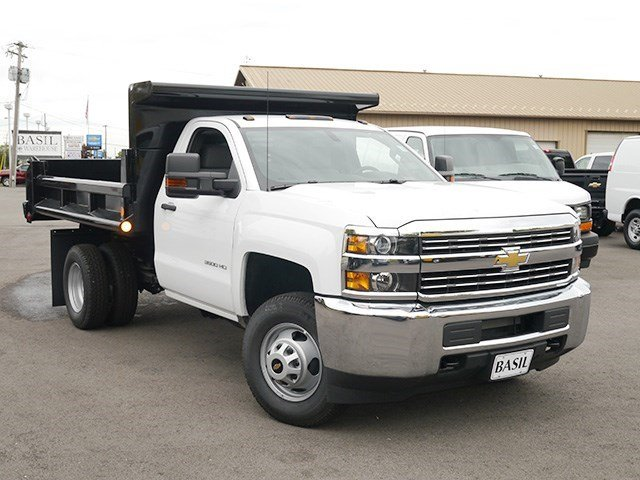 2016 Silverado 3500 Regular Cab 4x4, Air-Flo Dump Body #16C293TD - photo 8