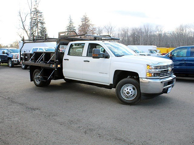 2016 Silverado 3500 Crew Cab 4x4, Knapheide Contractor Body #16C298T - photo 11