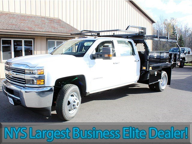 2016 Silverado 3500 Crew Cab 4x4, Knapheide Contractor Body #16C298T - photo 3