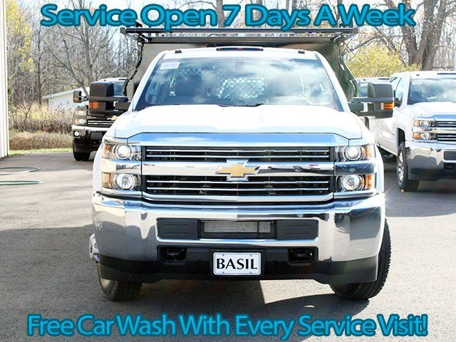2016 Silverado 3500 Crew Cab 4x4, Knapheide Contractor Body #16C298T - photo 4