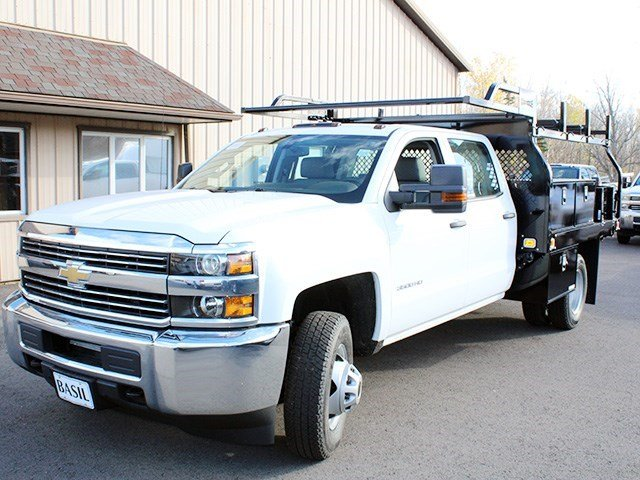 2016 Silverado 3500 Crew Cab 4x4, Knapheide Contractor Body #16C298T - photo 8