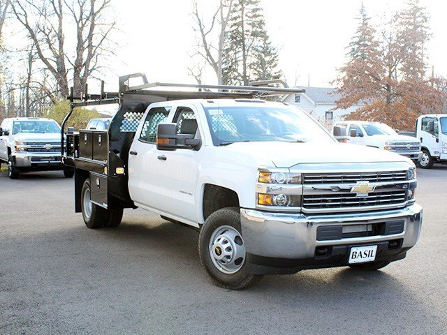 2016 Silverado 3500 Crew Cab 4x4, Knapheide Contractor Body #16C298T - photo 9