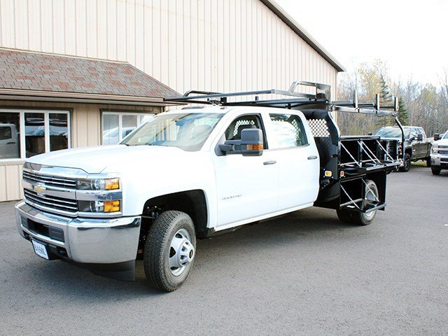 2016 Silverado 3500 Crew Cab 4x4, Knapheide Contractor Body #16C298T - photo 10