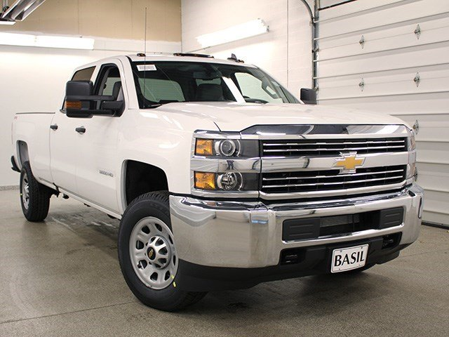 2016 Silverado 3500 Crew Cab 4x4, Pickup #16C304T - photo 8