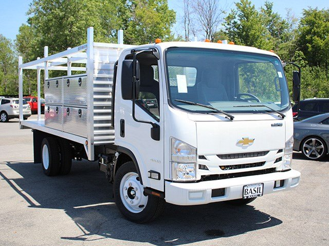 2016 LCF 4500 Regular Cab, Niagara Truck Equipment Platform Body #16C336T - photo 8