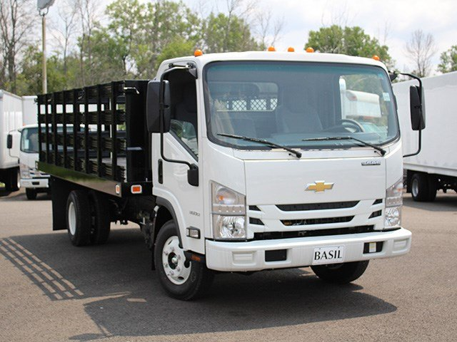 2016 LCF 3500 Regular Cab, Knapheide Stake Bed #16C340T - photo 8
