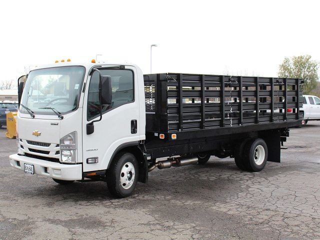 2016 LCF 3500 Regular Cab, Knapheide Stake Bed #16C342T - photo 3