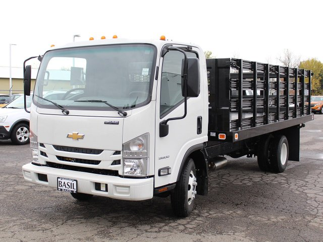 2016 LCF 3500 Regular Cab, Knapheide Stake Bed #16C342T - photo 8