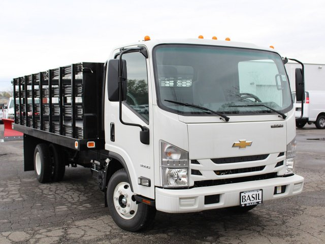 2016 LCF 3500 Regular Cab, Knapheide Stake Bed #16C342T - photo 9