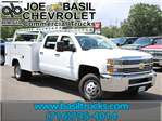 2017 Silverado 3500 Crew Cab DRW 4x4, Reading Service Body #17C100T - photo 1