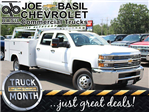 2017 Silverado 3500 Crew Cab 4x4, Reading Service Body #17C100T - photo 1