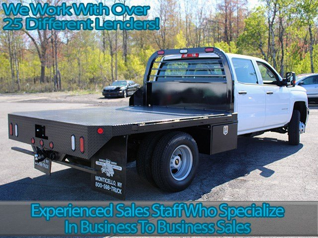 2017 Silverado 3500 Crew Cab 4x4, Reading Platform Body #17C101T - photo 2