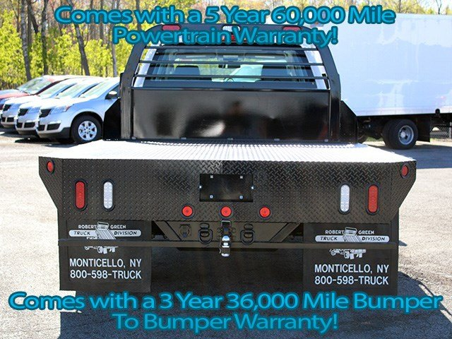 2017 Silverado 3500 Crew Cab 4x4, Reading Platform Body #17C101T - photo 5