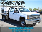 2017 Silverado 3500 Crew Cab 4x4, Reading Platform Body #17C101T - photo 1