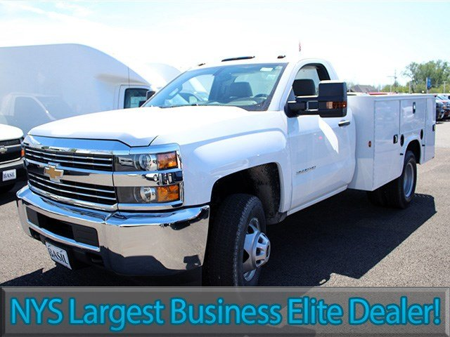 2017 Silverado 3500 Regular Cab DRW 4x4, Knapheide Service Body #17C103T - photo 3
