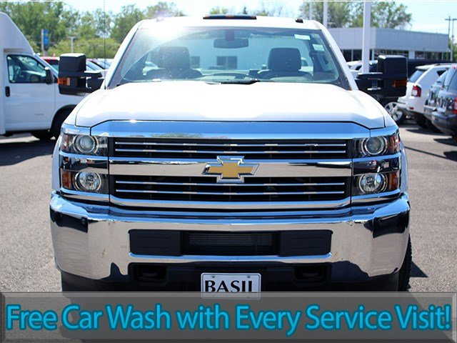 2017 Silverado 3500 Regular Cab DRW 4x4, Knapheide Service Body #17C103T - photo 4