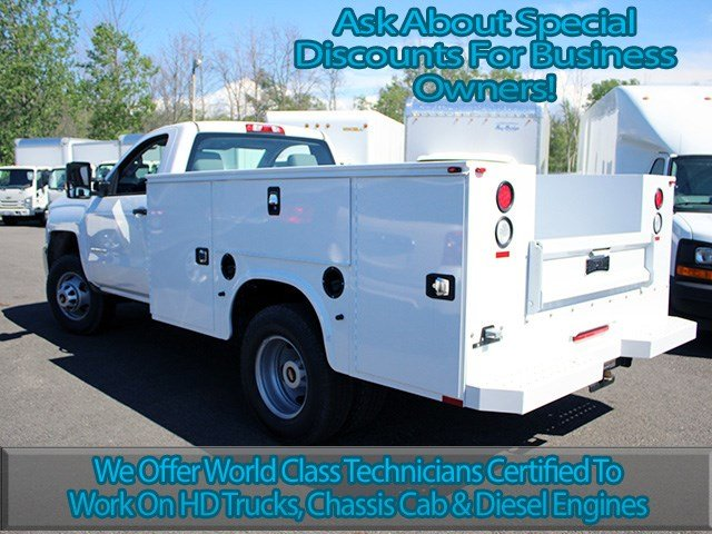 2017 Silverado 3500 Regular Cab DRW 4x4, Knapheide Service Body #17C103T - photo 6