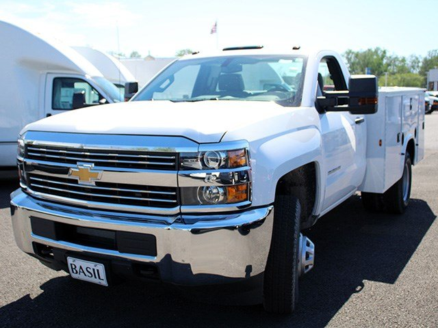 2017 Silverado 3500 Regular Cab DRW 4x4, Knapheide Service Body #17C103T - photo 8