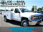 2017 Silverado 3500 Regular Cab 4x4, Knapheide Service Body #17C103T - photo 1