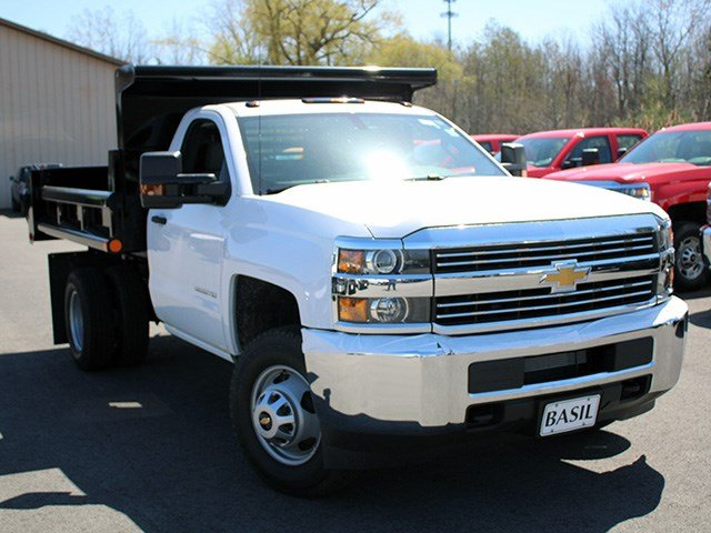 2017 Silverado 3500 Regular Cab 4x4, Air-Flo Dump Body #17C104T - photo 9