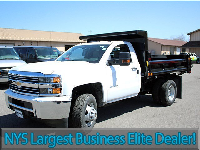 2017 Silverado 3500 Regular Cab 4x4, Air-Flo Dump Body #17C104T - photo 3