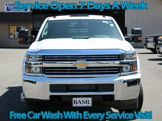 2017 Silverado 3500 Regular Cab 4x4, Air-Flo Dump Body #17C104T - photo 4