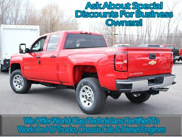 2017 Silverado 2500 Double Cab 4x4, Pickup #17C123T - photo 6
