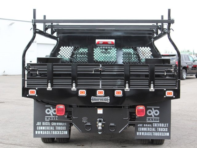 2017 Silverado 3500 Regular Cab DRW 4x4,  Knapheide Contractor Body #17C128T - photo 5