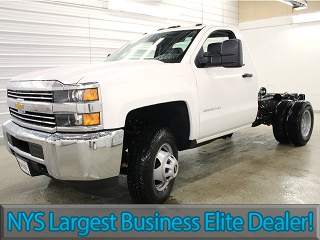 2017 Silverado 3500 Regular Cab 4x4 Cab Chassis #17C128T - photo 3