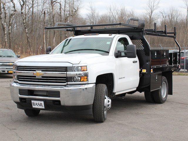 2017 Silverado 3500 Regular Cab DRW 4x4,  Knapheide Contractor Body #17C128T - photo 8