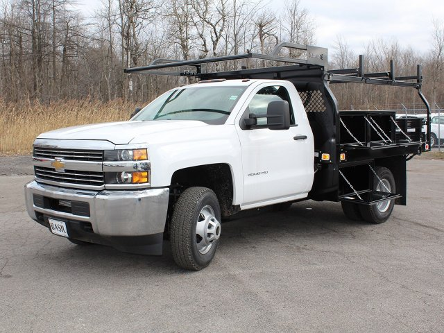 2017 Silverado 3500 Regular Cab DRW 4x4 Contractor Body #17C128T - photo 10