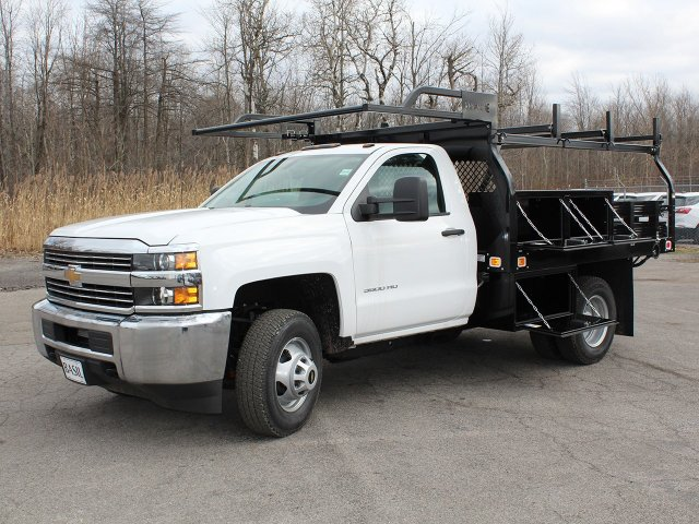 2017 Silverado 3500 Regular Cab DRW 4x4,  Knapheide Contractor Body #17C128T - photo 12