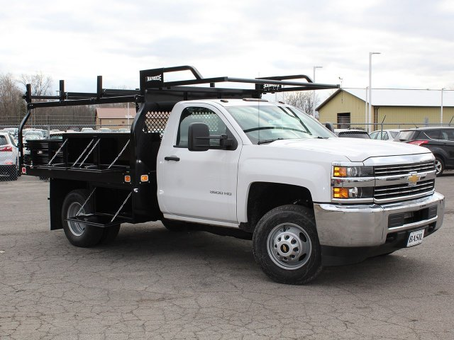 2017 Silverado 3500 Regular Cab DRW 4x4,  Knapheide Contractor Body #17C128T - photo 13