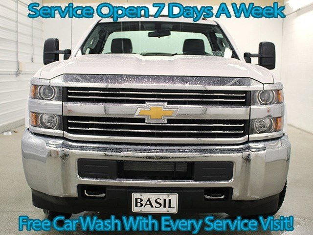 2017 Silverado 3500 Regular Cab 4x4 Cab Chassis #17C128T - photo 4