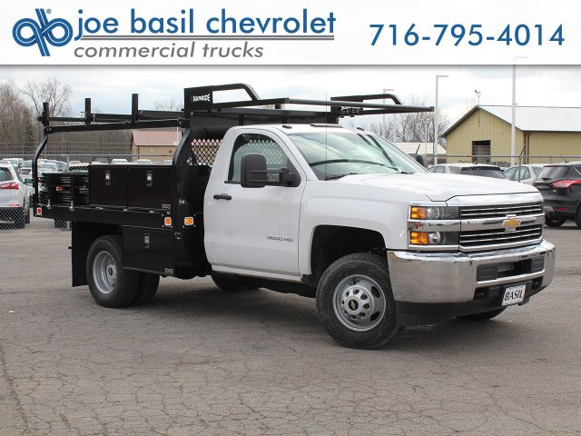 2017 Silverado 3500 Regular Cab DRW 4x4,  Knapheide Contractor Body #17C128T - photo 1
