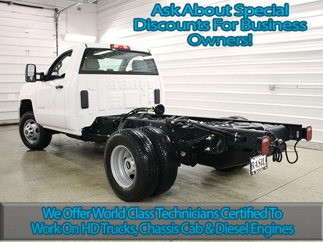 2017 Silverado 3500 Regular Cab 4x4 Cab Chassis #17C128T - photo 6
