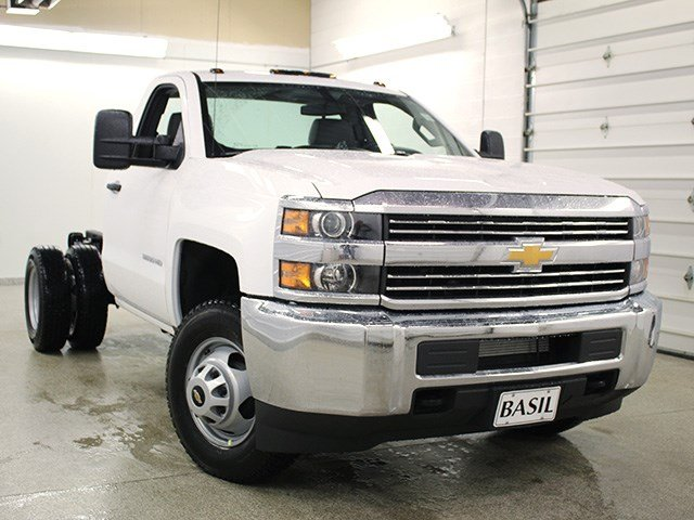 2017 Silverado 3500 Regular Cab 4x4 Cab Chassis #17C128T - photo 8