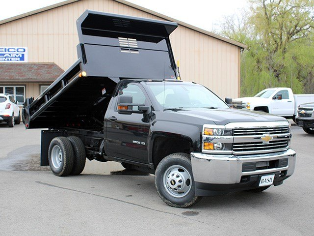 2017 Silverado 3500 Regular Cab DRW 4x4, Air-Flo Dump Body #17C131T - photo 12