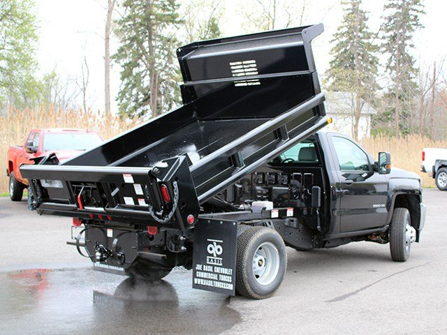 2017 Silverado 3500 Regular Cab DRW 4x4, Air-Flo Dump Body #17C131T - photo 14